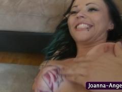 Goth Joanna Angel gets fucked