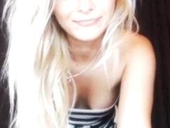 Fabulous Webcam video with Blonde scenes