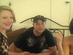 Hot double date sex orgy