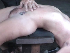Caned bdsm sub Sasha Heart punished hard