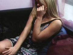 Ivanka in nasty amateur sex tape video with a horny couple