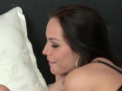 Horny pornstars Kari, Caitlin in Incredible Small Tits, MILF porn clip
