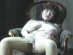 Incredible Japanese model Marina Matsushima in Crazy Big Tits, Fishnet JAV clip