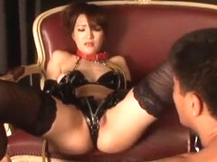 Exotic Japanese whore Mao Odagiri in Best Stockings/Pansuto, Dildos/Toys JAV clip