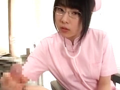 Amazing Japanese model Rin Hayakawa in Crazy POV, Nurse/Naasu JAV movie
