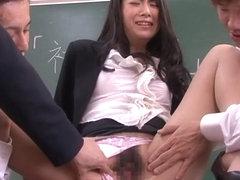 Kyoko Ono in Mistreated Beautiful Teacher part 2