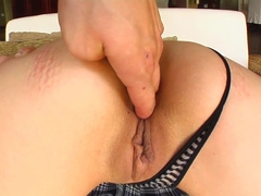 Tamed Teens Shes gagging on those big cocks and tasting that cum