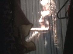 Curtain voyeur girls