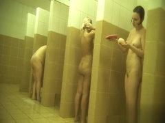 Hidden cameras in public pool showers 929