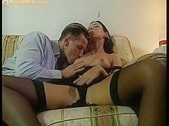 Amazing beauty fucked anal hard