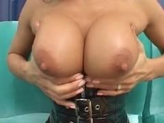 Sandra Romain latex hardcore fucking