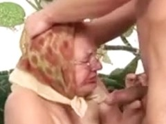 fat granny in ideal act