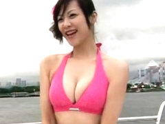Amazing Japanese model in Incredible Gangbang, Voyeur JAV video