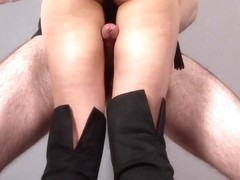 uncensored asian thighjob intercrural sex