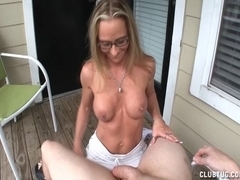 Slutty Mother I'd Like To Fuck Lube Tugjob