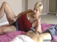 Short Haired Mother I'd Like To Fuck Tugjob