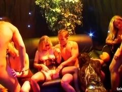 Sinfully pornstars fucking at casino party