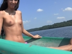 Incredibly hardfuck on a boat