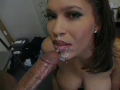 Tiffany Biggs - Breasty Dark Hottie Anal