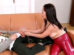 Oriental mother i'd like to fuck footjob