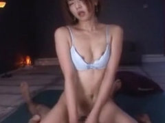 Crazy Japanese whore Saki Ninomiya in Horny Girlfriend, POV JAV scene