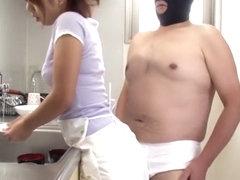 Fabulous Japanese girl Mai Nomura in Amazing threesomes, blowjob JAV video