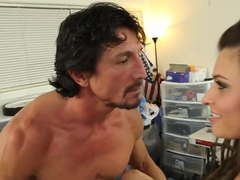 Victoria Lawson Fucks A Coworker While The Boss Is Away