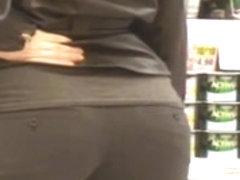 Mulatto Bubble Booty Ass