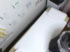 Petite Japanese teen fingered in spy cam massage movie