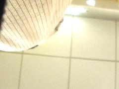 Panties in black ass(short clip)