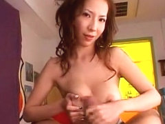 Horny Japanese chick in Amazing Fingering, Handjobs JAV clip