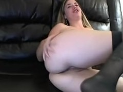 My big bun gets wet in hot sex video