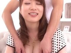Incredible Japanese whore Akari Hoshino in Fabulous JAV censored Fingering, Big Tits movie