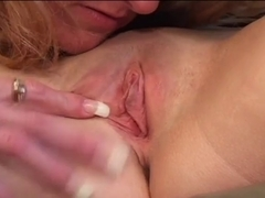 Youthful & old lesbo gratifying every other