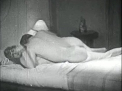 Retro Porn Archive Video: Femmes seules 1950's 04
