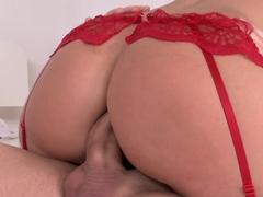 Hottest pornstar Silvia Burton in Crazy Threesomes, DP sex scene