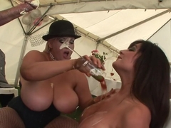 Exotic pornstars Kit Lee and Kat Lee in best group sex, brazilian sex movie