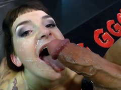 Amazing pornstar Stella Star in Exotic Brunette, Bukkake sex scene
