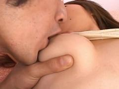 Ana Oshirino Pretty Asian doll enjoys lots of hard sex