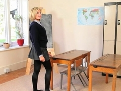 cute teacher teasing body just for you