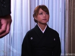 Akiho Yoshizawa amazing Asian milf gets hot position 69