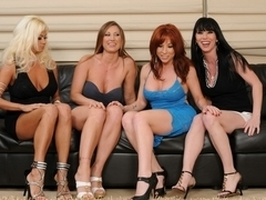 Devon and Nikita is a lesbian sex orgy with toys