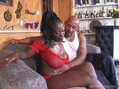Huge Black Booty On Thick Juana