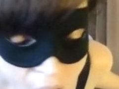 Masked Mamma Oral Sex-Service