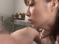 Kaede Fuyutsuki Hot Asian nurse is horny
