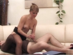 MaturesAndPantyhose Movie: Martha and Sebastian B