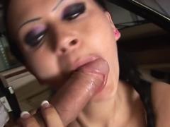 Hottest pornstar in horny cunnilingus, stockings sex video