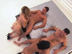 Horny pornstar Tera Patrick in Exotic Big Tits, Group sex xxx clip