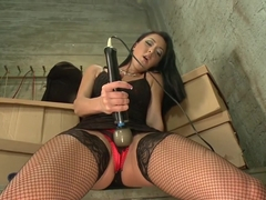 Horny fetish adult video with crazy pornstar Sabrina Banks from Fuckingmachines