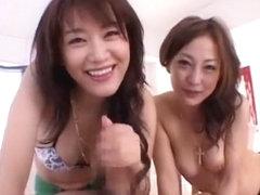 Horny Japanese girl Mako Katase, Sho Nishino in Fabulous Small Tits, Fingering JAV movie